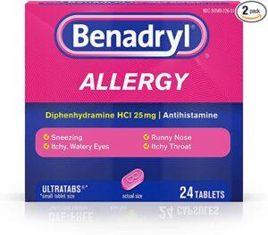 Benadryl Box