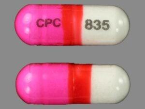 Diphenhydramine pill